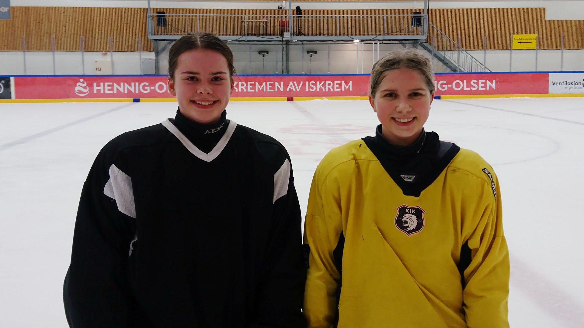 Ida Og Andrea Til Landslagssamling