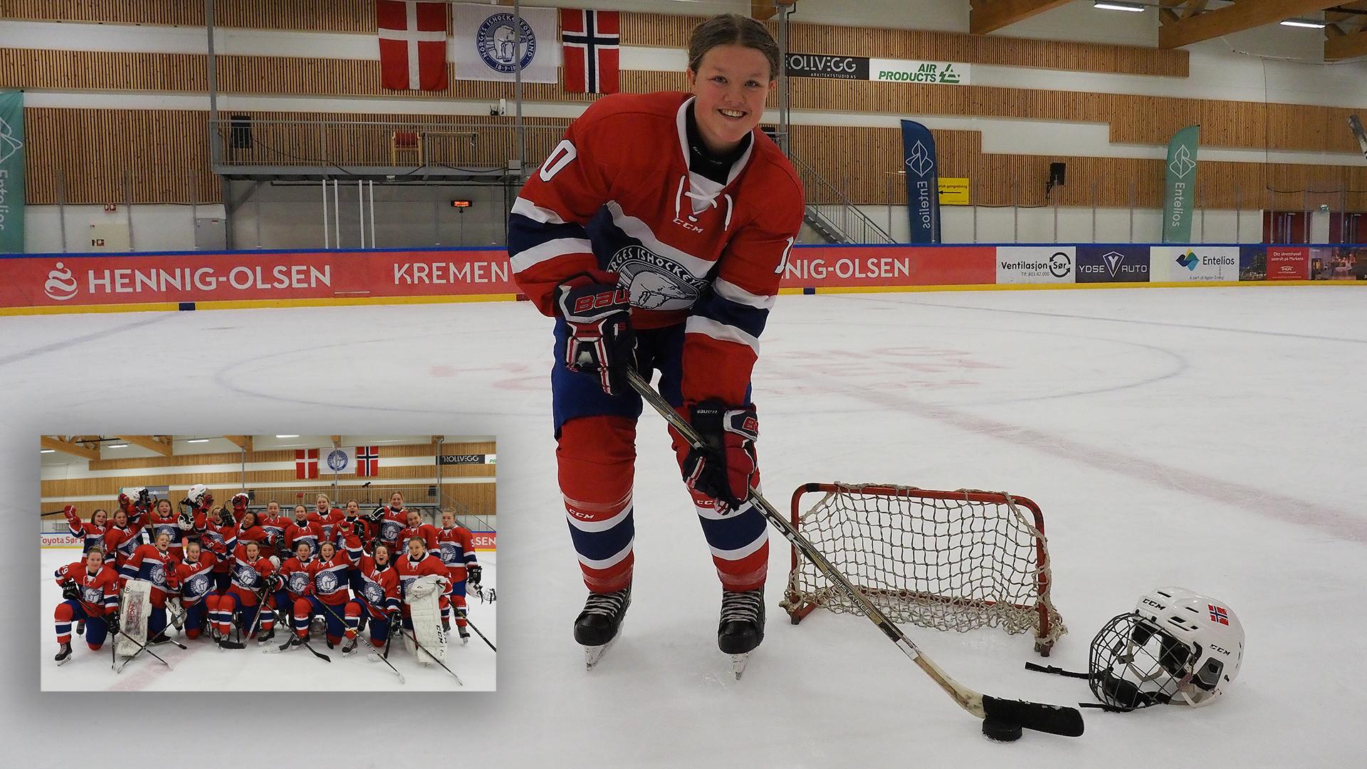 Fra Hockeyskole Til Landslag